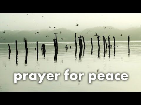 Prayer of St Francis - Lord Make Me An Instrument of Your Peace
