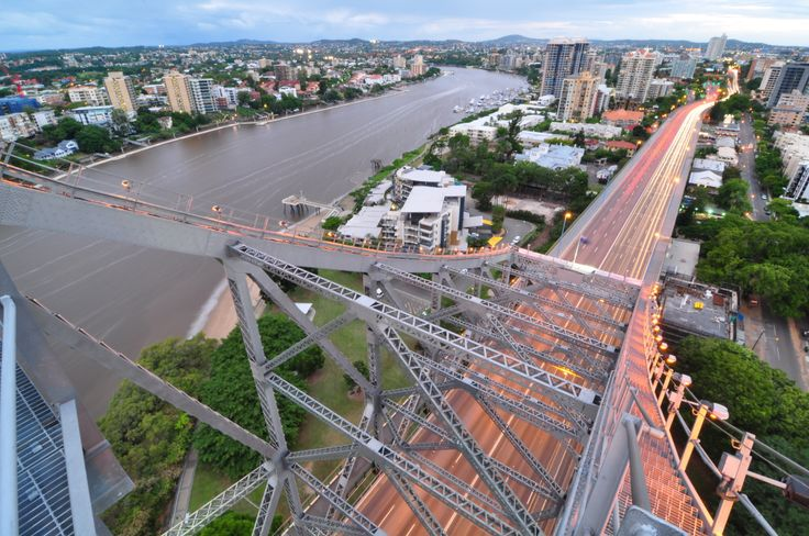 Story Bridge Adventure Climb. http://bit.ly/1n5taw5 #Brisbane #Queensland #Australia #travel