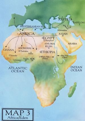 African countries in the Bible …let the maps speak