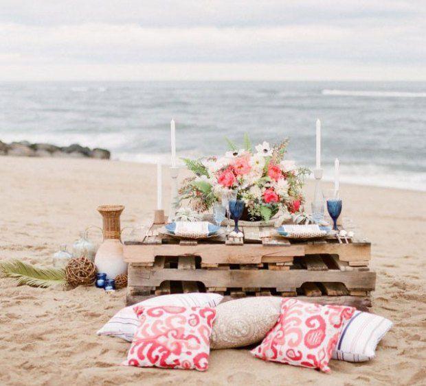41 best DIY Beach Wedding Ideas images on Pinterest | Beach weddings ...