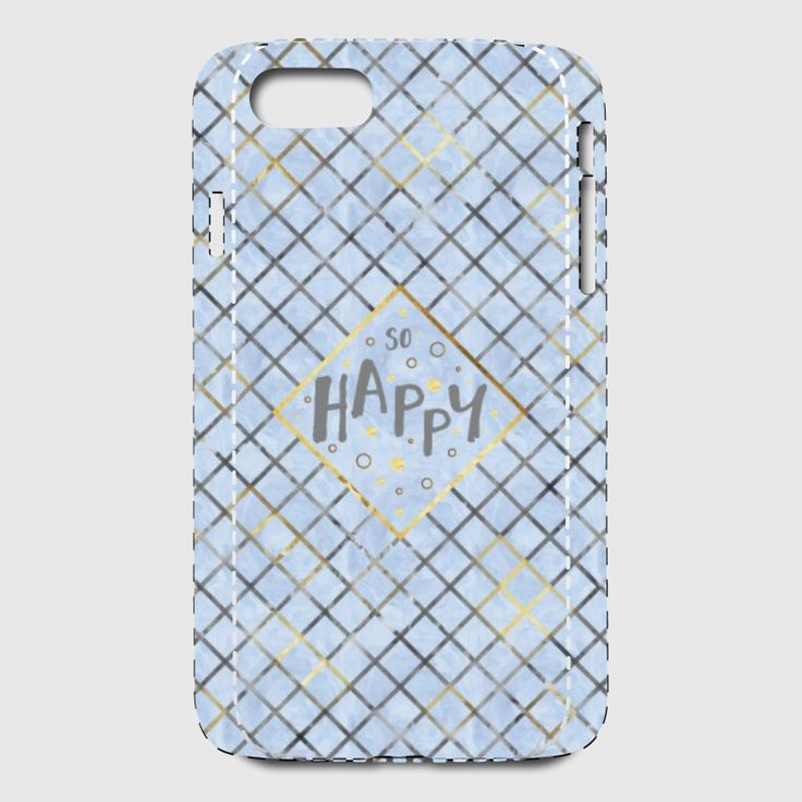 LOTS OF TRENDY MOBILE CASES AVAILABLE AT SPREADSHIRT. #mobile #case #shopping #mobileaccessories #text #textart #modern #pattern #patterndesign #blue #bluedesign #motivation #motivationalquotes #happy #iphone7pluscase