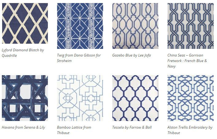 Bold and Graphic Trellis Garden Inspired Wallpaper - Interiors By Color