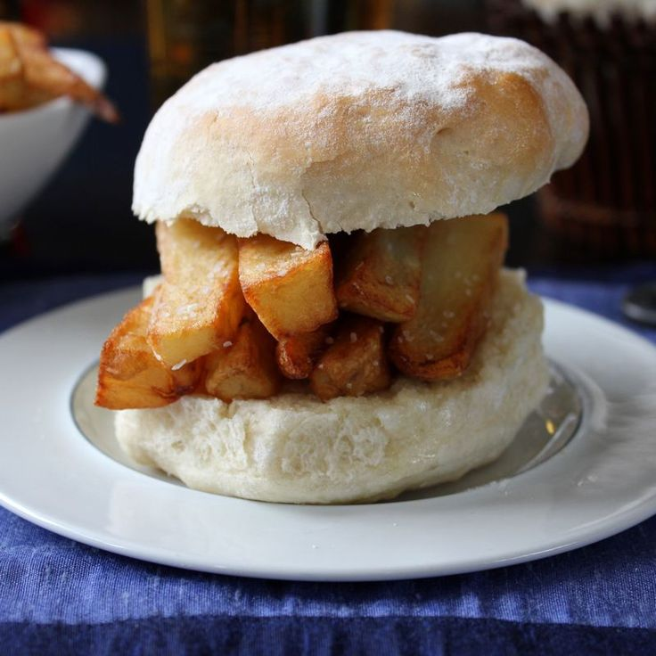 Chip Butty on Waterford Blaa :   with metric conversions!!!