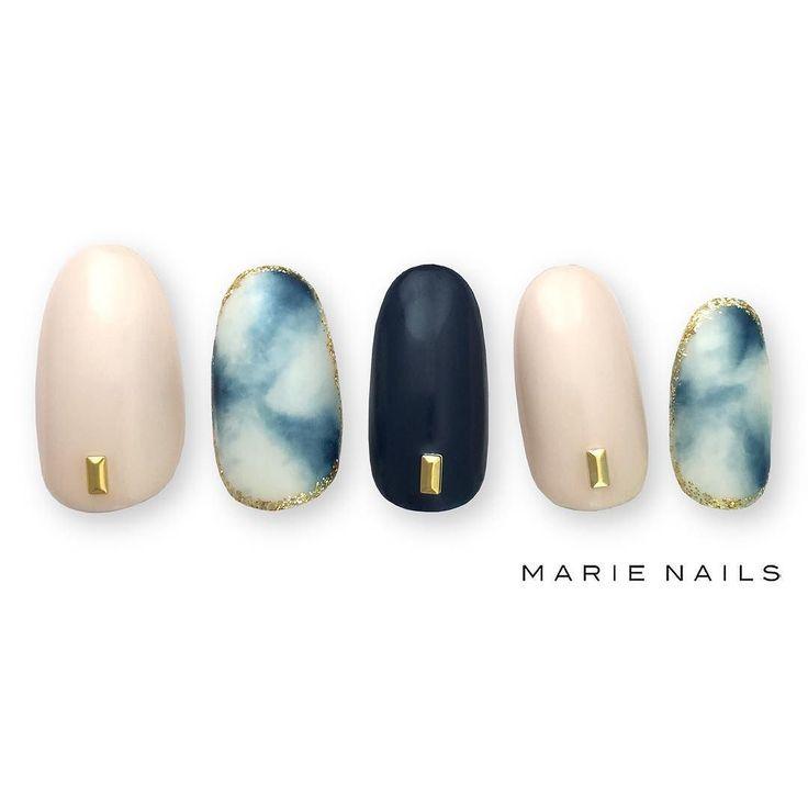 #マリーネイルズ #marienails #ネイルデザイン #かわいい #ネイル #kawaii #kyoto #ジェルネイル#trend #nail #toocute #pretty #nails #ファッション #naildesign #awsome #beautiful #nailart #tokyo #fashion #ootd #nailist #ネイリスト #ショートネイル #gelnails #instanails #marienails_hawaii #cool #vintage #blue