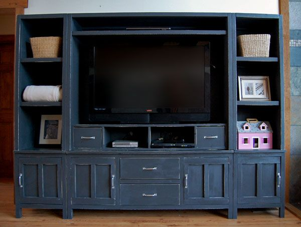 Diy Entertainment Center These Things Usually Cost In The Hundreds Or Thousands Right Furniture Home Decor