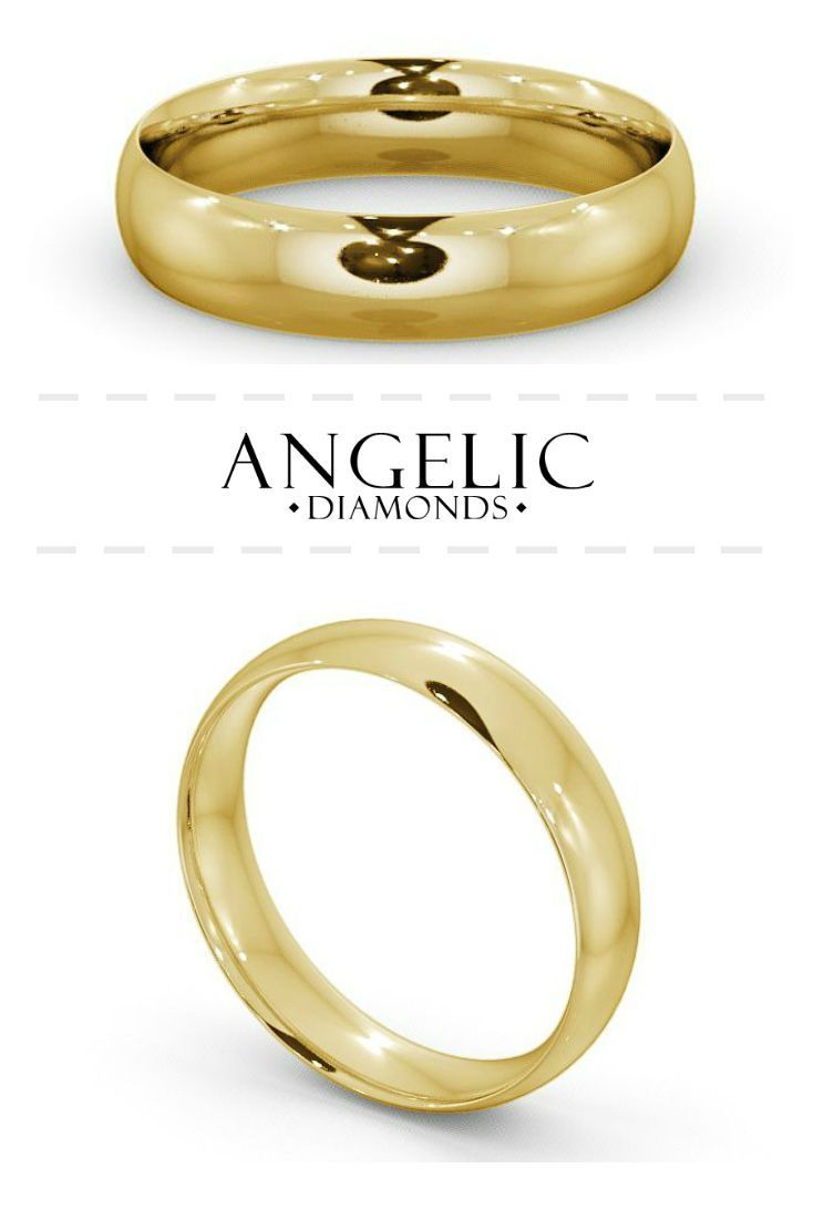 This gold men's wedding ring is simple, classic and stunning. Make it extra special and customise it with your personal message. #AngelicDiamonds #Wedding #WeddingRing #Gold #YellowGold #MensRing #MensJewellery #MensJewelry #Jewellery #Jewelry #IDo #Men #Man #Ring