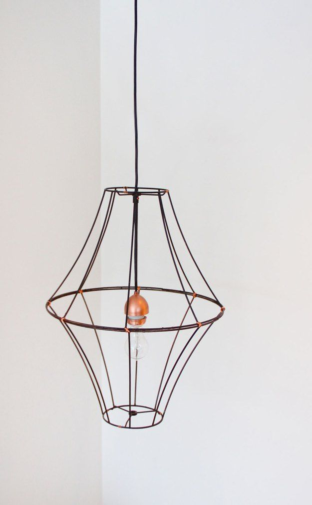how to make a lampshade frame