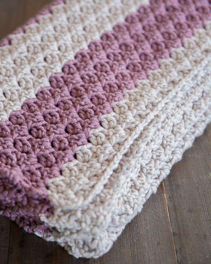 Grátis Chunky Crochet Throw Pattern