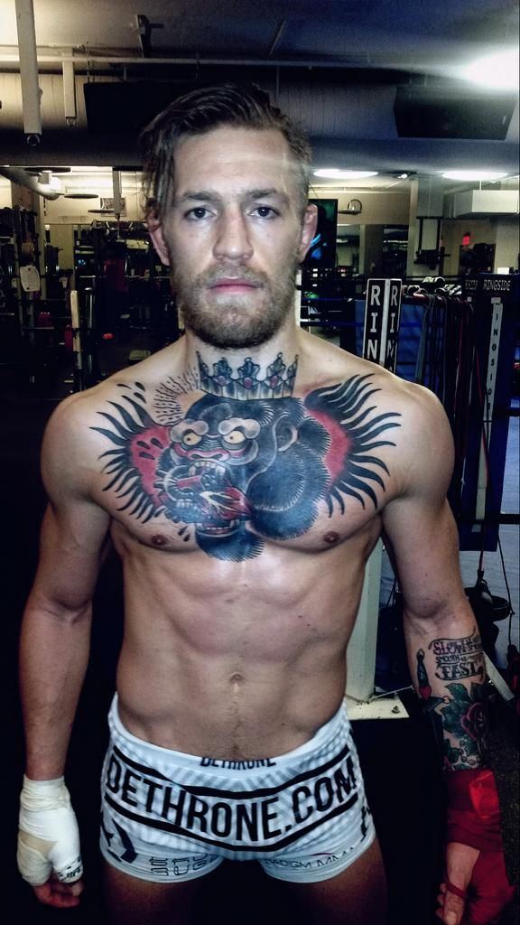 Conor McGregor. Love his game, not his mouth, though. Hope he walks the talk when he soon faces Aldo.