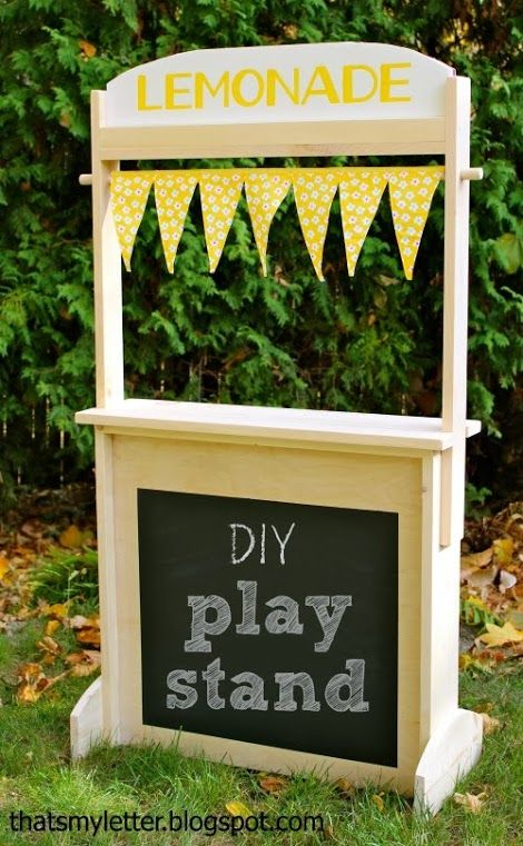 69 best images about to do on pinterest for Kids lemonade stand plans