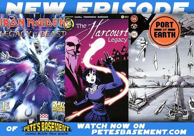 The boys hit the roundtable for a spoiler-free review of Thor: Ragnarok and a solid week worth of comics. Indie hits like The Harcourt Legacy and Algernon Blackwood's The Willows take the top seat alongside Image's Port of Earth from Zack Kaplan the creator of Eclipse. Not to mention Iron Maiden's Eddie goes on his first comic adventure Shang Chi makes his return to the Marvel Universe and King Kong (finally) lands on the Planet of the Apes!  You're in for a great episode. What're you…