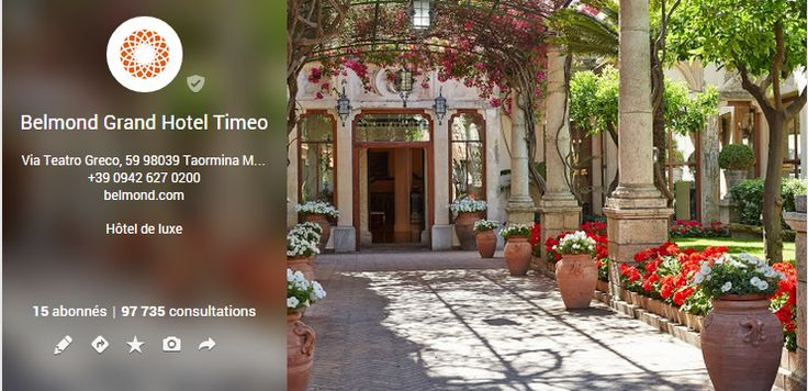 Great Google + Cover Photo from Belmond Grand Hotel Timeo in Taormina, Italie / Jolie couverture Googe + de Belmond Grand Hotel Timeo à Taormina, Italie https://plus.google.com/u/1/b/111633823308851980087/112450591996744938898/about