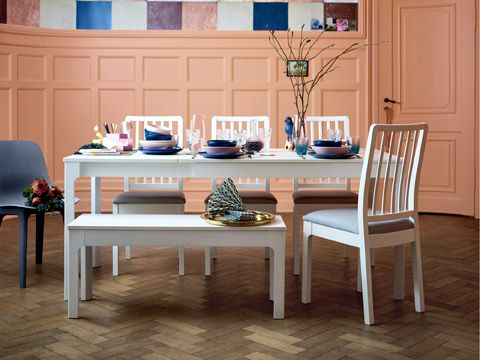 0b50f23ed6c Make room for more dinner guests with IKEA EKEDALEN table that has a smooth  hidden extension.