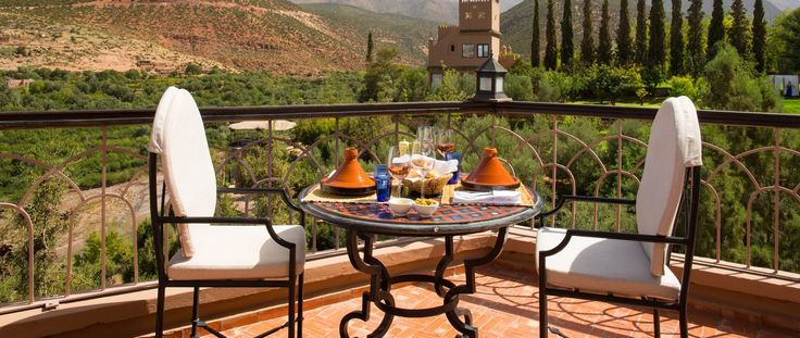 Luxury Holiday Ideas Morocco Kasbah Tamadot Restaurant