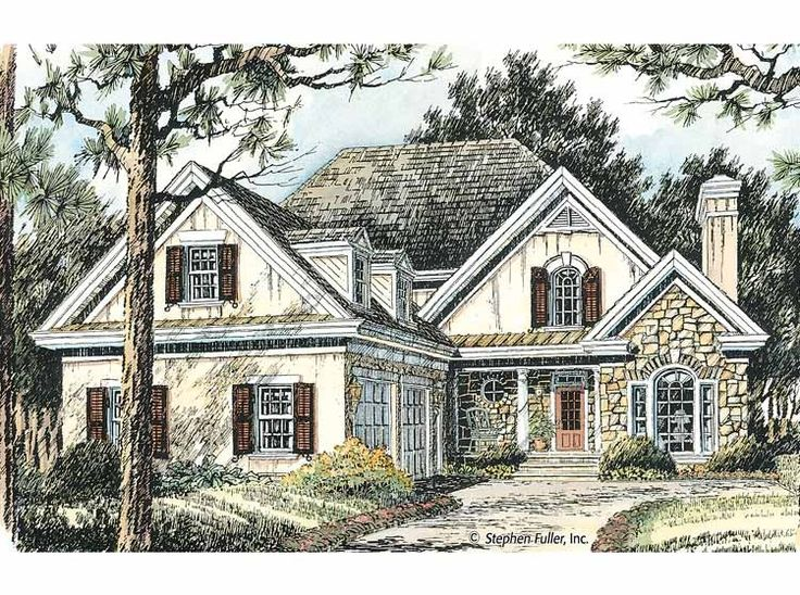 Eplans Cottage House Plan Charming And Gracious 2175