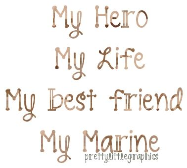 My hubby - I can never repay him for the  sacrifice he has given for my freedom but I can love him endlessly.