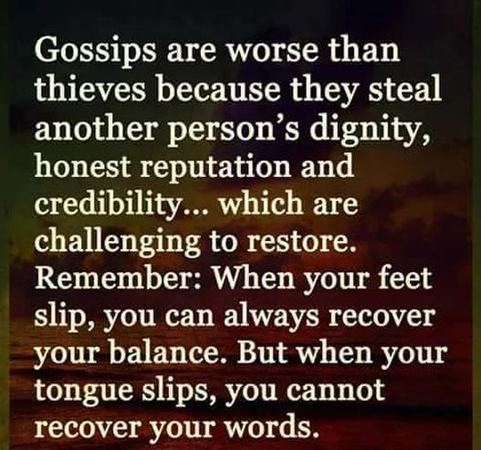 There are many sins that Christians consider heinous which are not called out in the Bible as often as gossip. It is listed as one of the seven abominations. I pray the Lord keeps me from it.