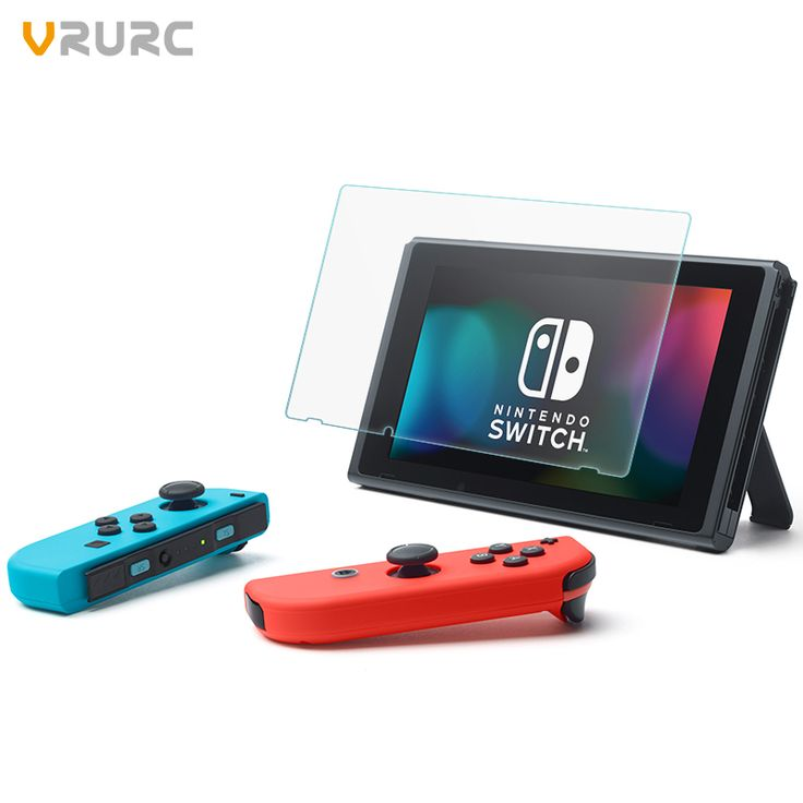Vrurc For Nintendo Switch 2017 Tempered Glass for Nintendo Switch Screen Protector 9H Hardness PremiumTempered Glass for Switch