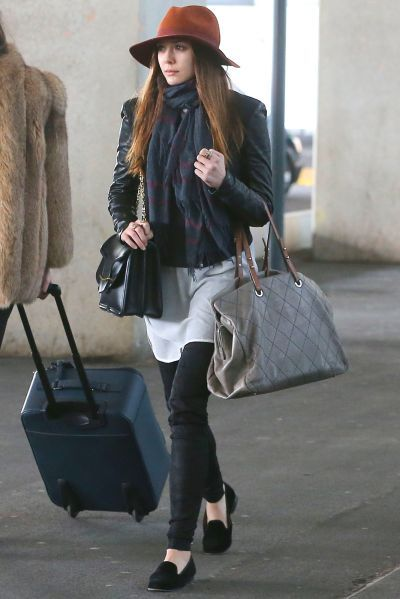 celebrity airport style traveling outfits looks i love