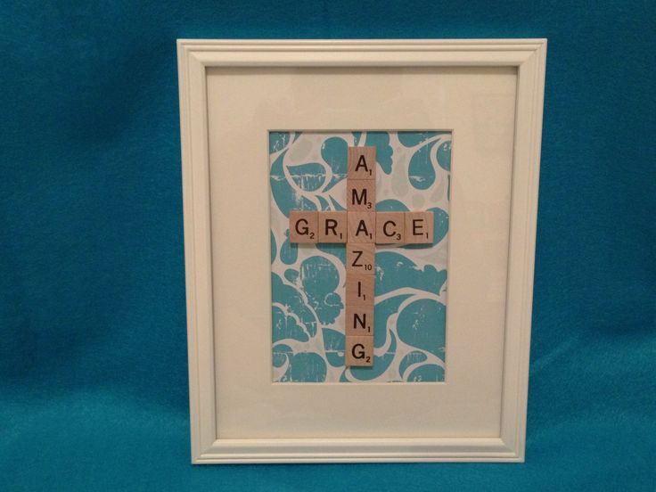 5 x 7 Scrabble Art - Bid on this item !
