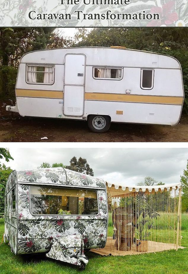 Insulate Your Windows With Bubble Wrap Caravan Vintage Caravans Retro Caravan
