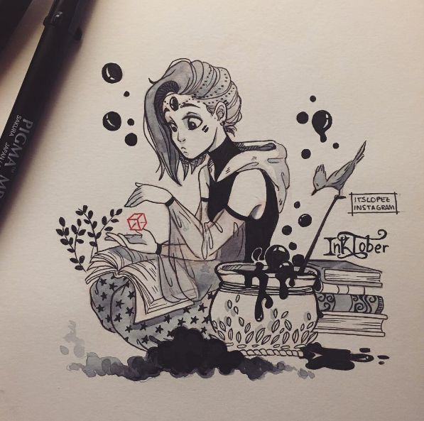 Best 25+ Witch Drawing Ideas On Pinterest
