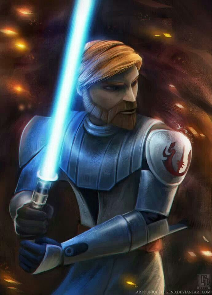 General Obi-Wan Kenobi- Star Wars: The Clone Wars.                                                                                                                                                      More
