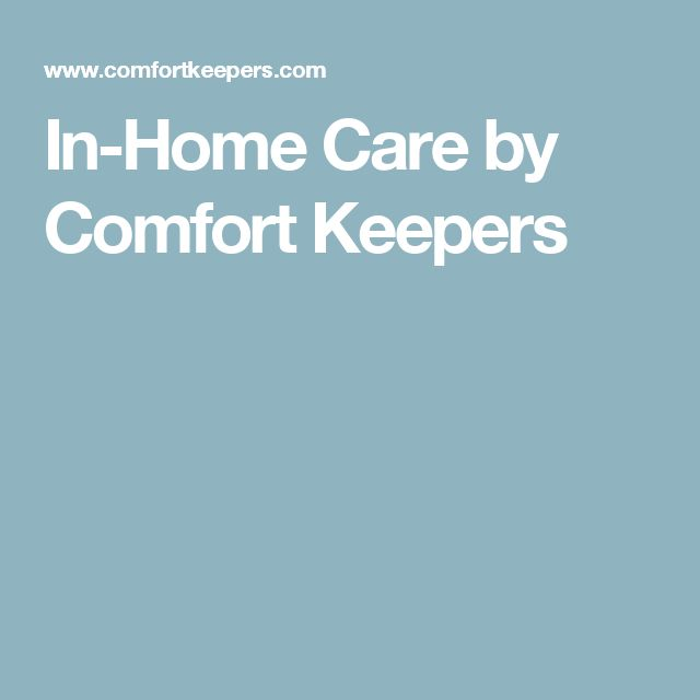 In-Home Care by Comfort Keepers