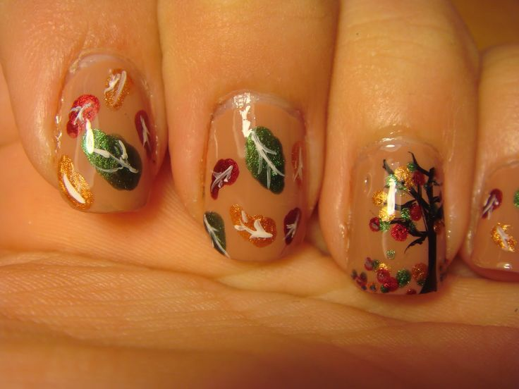 233 best latest nail designs images on pinterest latest nail leaf nail designs falling leaves nail art design nail art designs 2013 prinsesfo Choice Image
