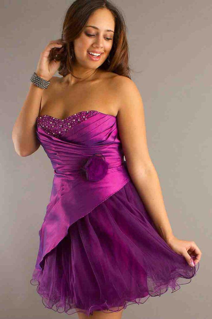 Purple Plus Size Dresses For Weddings