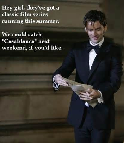 Doctor Who hey girl- omg this just made my day lol :) I love classics!