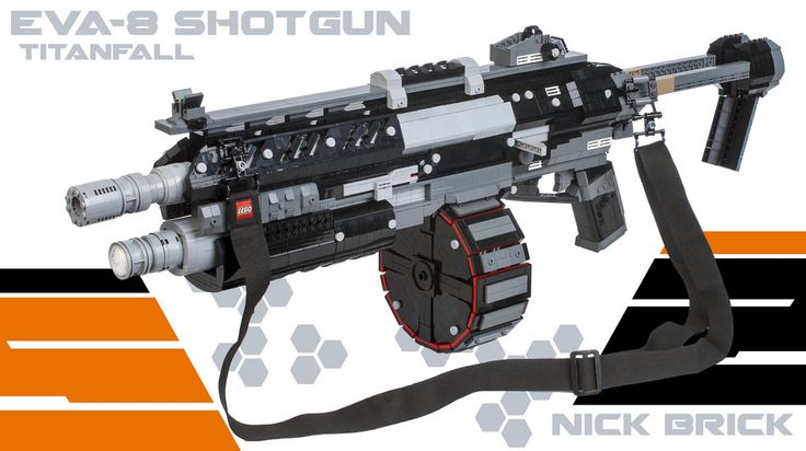 how to build a lego gun that shoots bricks instructions