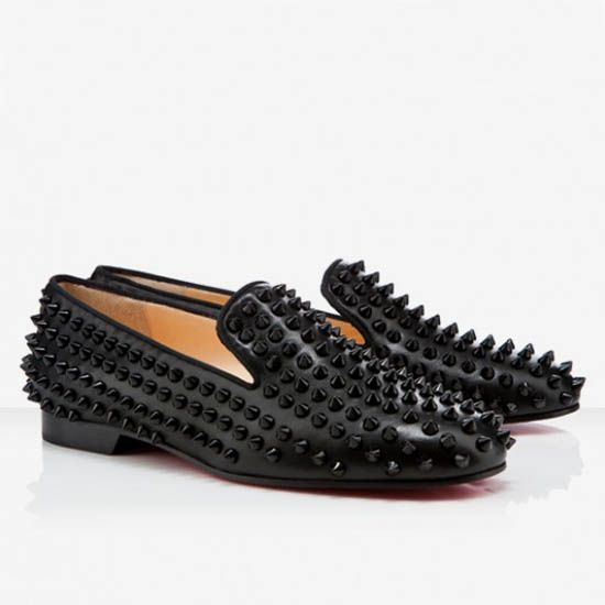 Loafers Shoes In Black