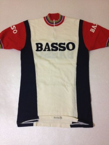 MAGLIA CICLISMO VINTAGE LANA LANETTA BICI SHIRT CYCLING JERSEY WHOOL BASSO | eBay