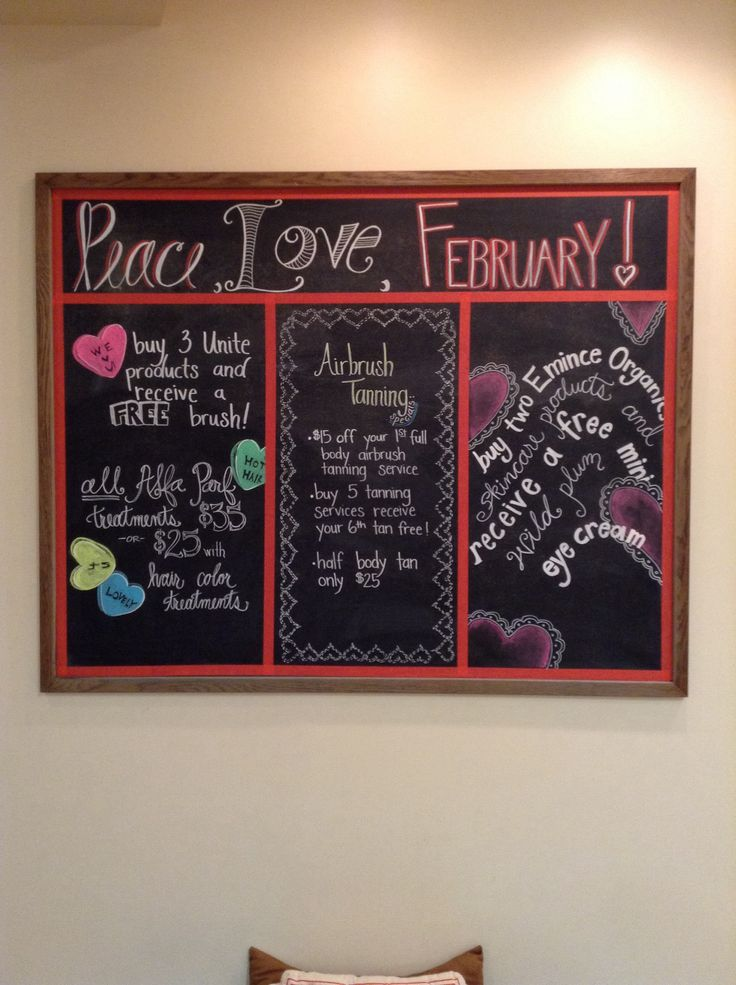 February monthly specials @ Rituals Salon and Spa
