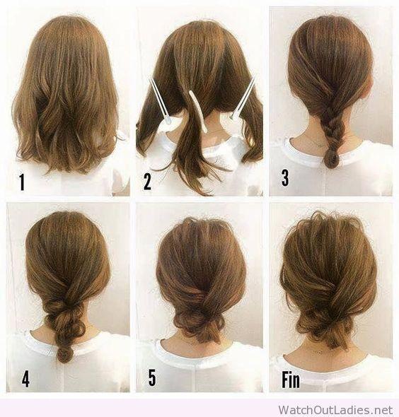 How to do a braid low bun