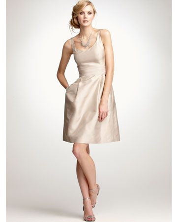 champagne bridesmaid dress: Ideas, Dresses Style, Champagne Bridesmaid Dresses, Pockets, Shorts, Bridesmaid Dresses Colors, Anntaylor, Anne Taylors, Wedding Bridesmaid