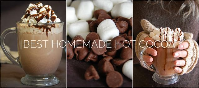 Simply Splendid: The Best Homemade Hot Cocoa