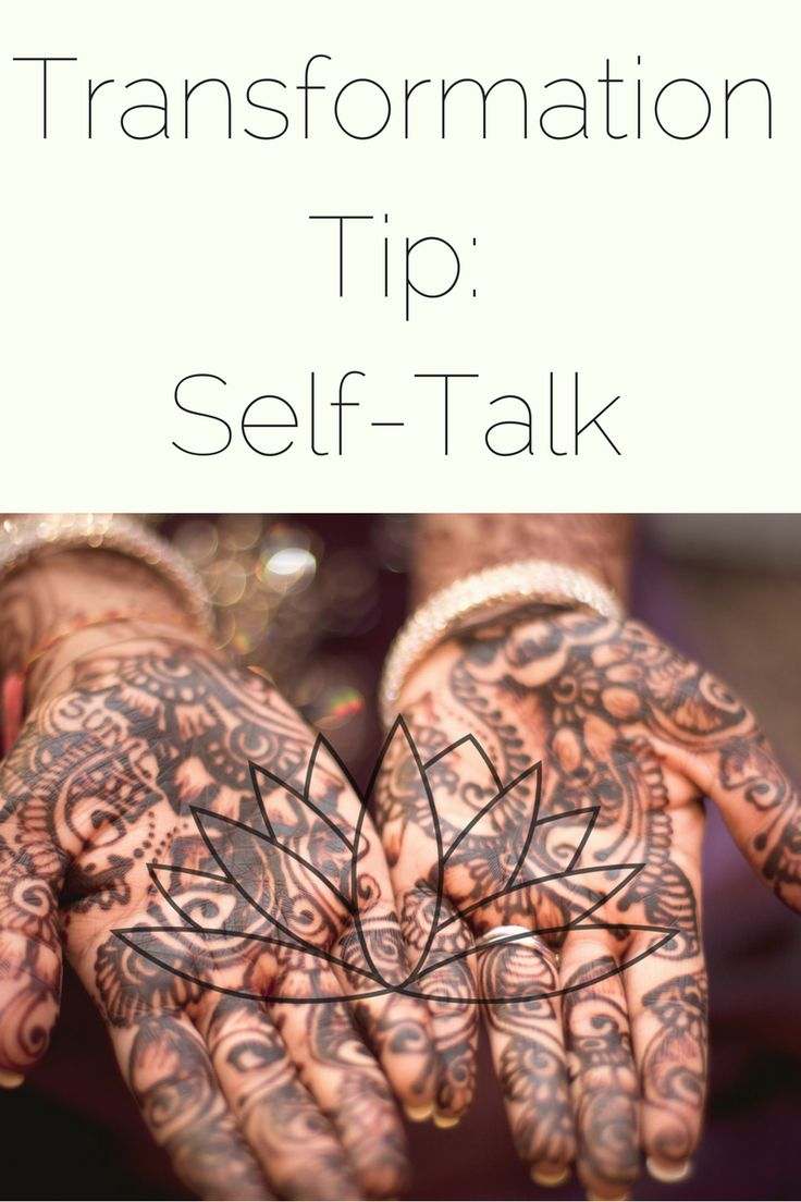 Transformation Tip Stop Bullying Yourself By Transforming