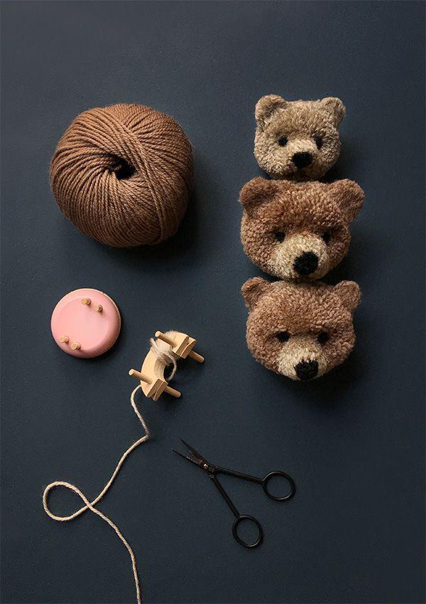 Wie man einen Pom Pom Bear macht – Pom Maker Blog