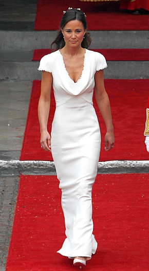 pippa middletons bridesmaid dress reproduced on sale for 277