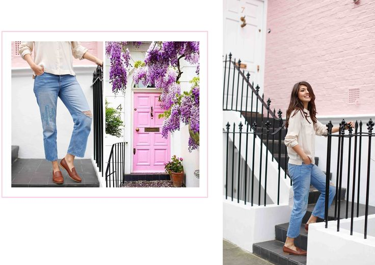 House of Spring Spring/Summer 2017 Collection #houseofspring #SS17 #allabouttara #fashionblogger #fashion #style #pink #London #summer #jeans #shoes #londonbasedbrand