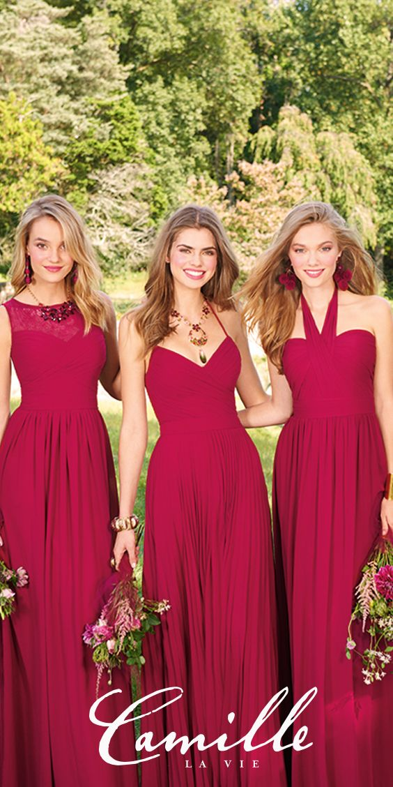 Camille La Vie Bridal And Bridesmaid Dresses Luxelist Camille La