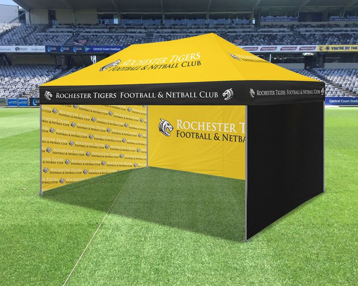 Football Netball Clubs can leverage the eye catching outdoor shade. Heavy Duty helps make it last longer