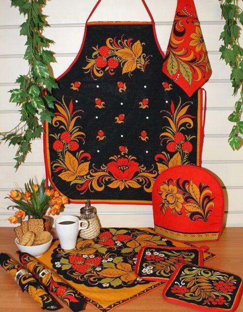 Russian folk art - РУССКИЙ СТИЛЬ. russian style