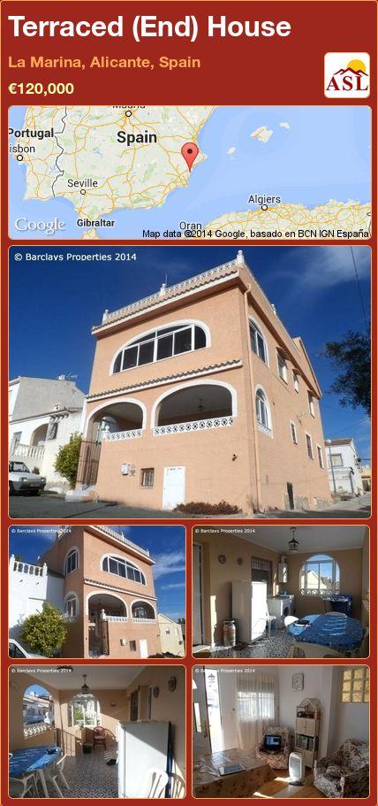 Terraced (End) House in La Marina, Alicante, Spain ►€120,000 #PropertyForSaleInSpain