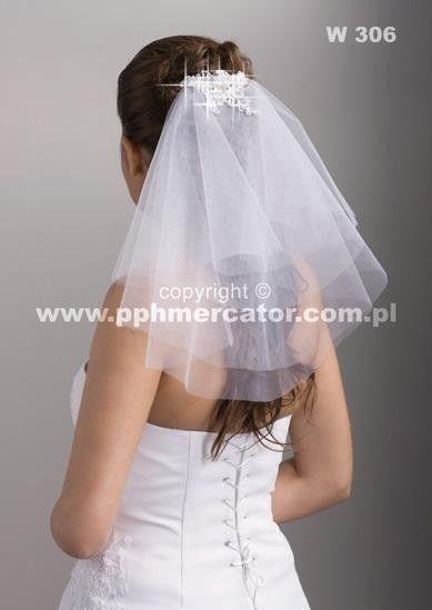 Welon ślubny w306