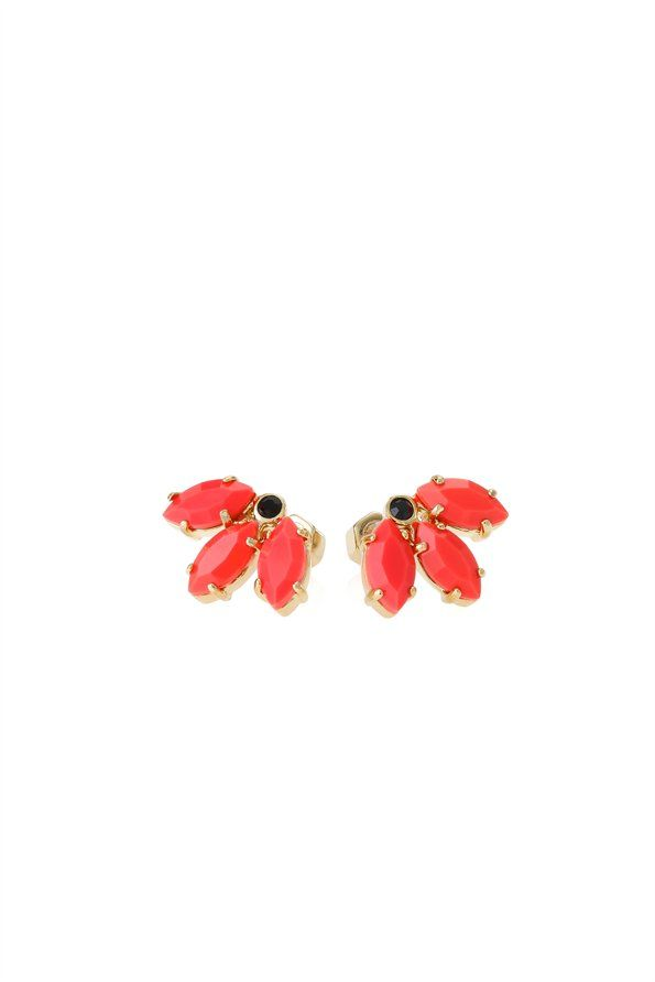 Marquis Leaf Palm Studs | marc by marc jacobs