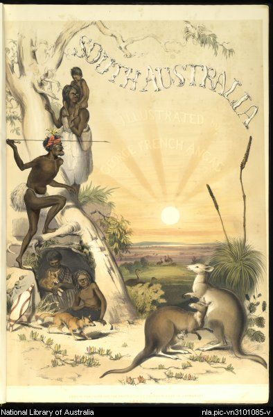 South Australia illustrated by George French Angas, 1846