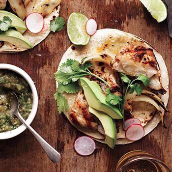 Grilled Chicken Tacos | Recipe | Fooooooodddd :) | Chicken tacos, Grilled chicken tacos, Tacos